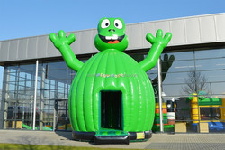 inflatable frog bounce house,commercial moon house,bouncy moon house
