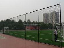 Basketball court fence netting