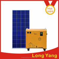 1year warranty,pure sine wave,Portable solar power generator/solar power DC and AC system,600W