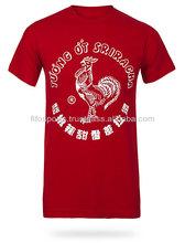Venta al por mayor clásico camiseta básica/100% de algodón camisetas personalizadas para los hombres/ropa de los hombres