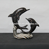 Resin Dolphin ornament Resin Statue dolphin sculpture Resin animal figure for indoor decor