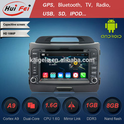"""7"""" Touch Screen Double Din Car Radio For Kia Sportage With Built-in 3G WIFI OBD2 DVR"""