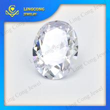 high quality labradorite cut stone oval cut zirconia stone