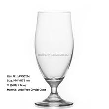 (ASG3214)Offering ODM OEM Service Juice Glass Mugs!Crystal Transparent Unleaded Glass!Transparent 14oz Juice Glass Mug ODM OEM