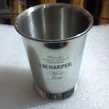 Eco-Friendly 11oz single wall travel stainless steel beer mug