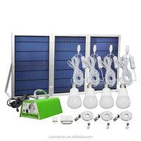 30W 11V powerful solar system kit/LED light solar power kit