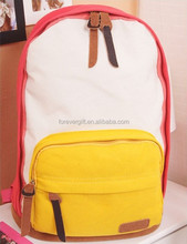 2014 school bags for teenagers Korean style Fashion Canvas Backpack travel Shoulder Bag
