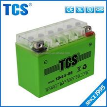 Sealed lead acid 12V 6.5Ah motorcycle gel battery prices