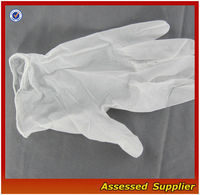 "5 Mil Powder-Free 9 1/2""QHDV-26 Premium Disposable Vinyl Gloves"