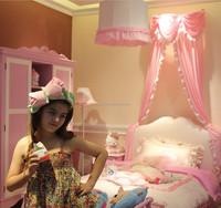 Hot selling pink princess bed kids bedroom furniture set girls bed A01