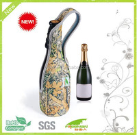 New design 750ml wine tote bag