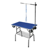 Portable Folding 360 Swivel Wheel Dog Grooming Table With Strap Support