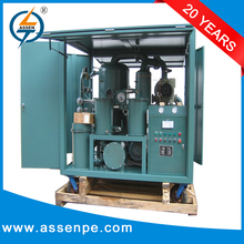 Automatic control type transformer oil filter machine price/waste recycle machine