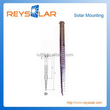Fence Gate Solar Panel Anchor Bolts/ Photovoltaic Mounting Solar Power Racking Ground Post