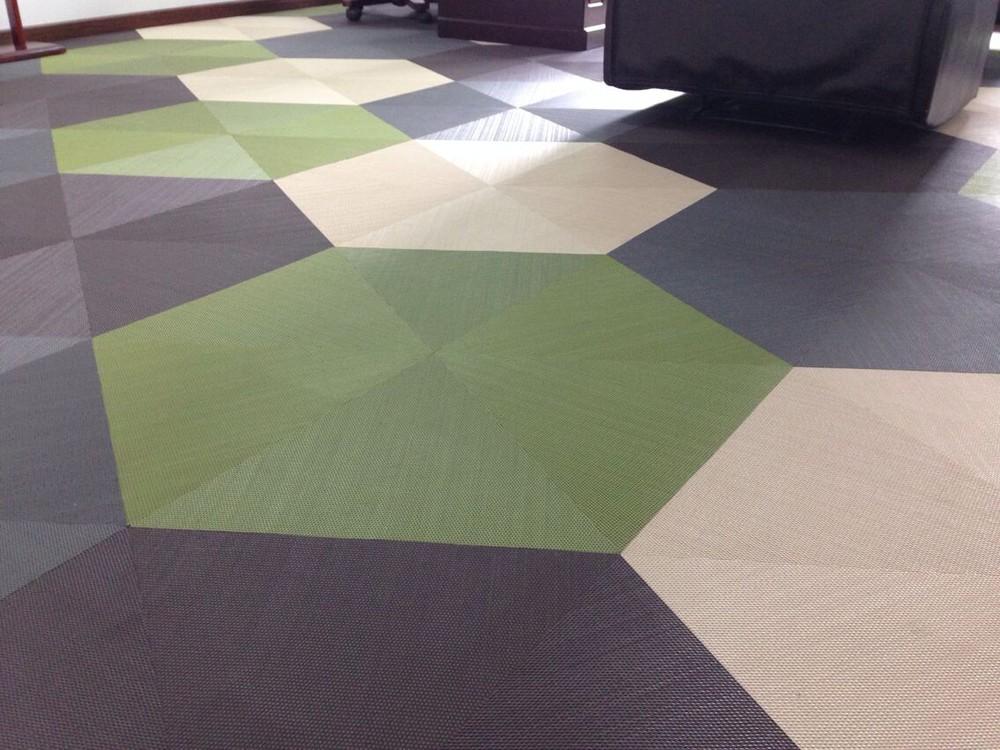 2017 벽 카펫 짠 비닐 타일 호텔 바닥 사무실 바닥-플라스틱 ...