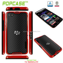 pc + tpu bumper case for blackberry z30