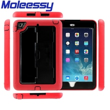 Waterproof design plastic cover for ipad mini smart case