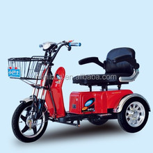 Hot Comfortable Popular Electric Scooter Tricycle For Handicapped With Sampile Roof