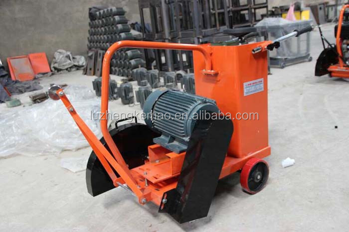 Portable walk behind electric gasoline mini asphalt concrete road cutter factory on sale in China