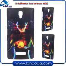 new arrival case 3d Sublimation mobile phone housing for Lenovo A2010