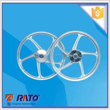 Motorcycle aluminum wheel rim hub , 1.4-17 front wheel, 1.6-17 rear wheel