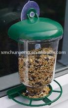 Alimentador de aves, de plástico alimentador del pájaro, alimentador de aves ventana