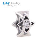 Silver Bracelet DIY Bead Necklace Designs Charm Fine Jewelry Wholesale