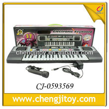 Childexperience approach 37 key clear plastic funny electronic organ