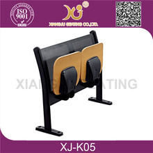 XJ-K05 university folding school chair desk for students,classroom table with chair