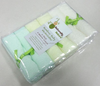 "Face Washer 100% Bamboo Terry Washcloth 10""x10"" Baby Face Towel"