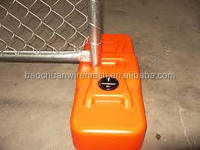 PVC coated high quality crowd control chain link temporary fence in store for sale (8 years producing experience)