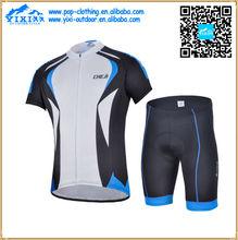 colegio ciclismo ropa de deporte jerseys pantalones cortos con china