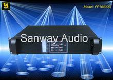 Amplificador de sonido envolvente digital de FP10000Q