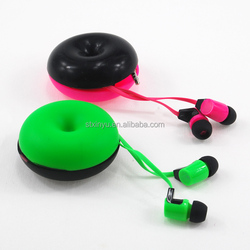 Good quality fashion earphone with cable winder