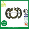 top quality brake shoes non-asbestos for japanese cars