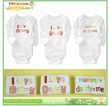3pcs in 1 set different set model infants newborn Bodysuit long sleeve baby romper