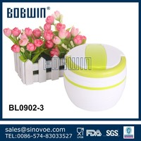 1200ml promotional plastic insulated food container with handle