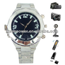Night Vision IR Watch Security Surveillance hidden Camera Video Recorder with Compass