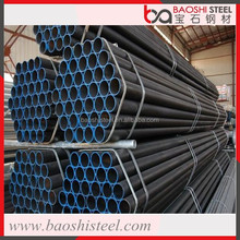 Baoshi Steel hot dip galvanized low carbon flexible pipe porn tube/steel tube 8