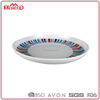 SGS certificated 10inch elegant plastic plates and dishes