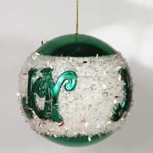 Newest Style Fashion decorative sequin Cheap Foam Christmas Ball For Holiday