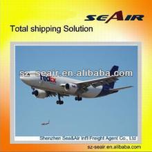 air shipping to congo-kinshasa by professional shipment from china