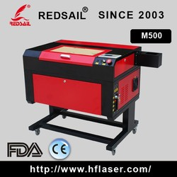 Redsail professional mini laser engraving machine M500 with quality certificated with high speed