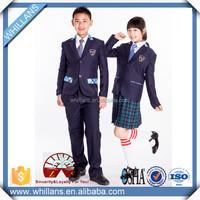 western style lovely kids school uniform