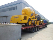 Mobile Concrete Mixer Self Loading with 3.5 cubic meters mixing volume