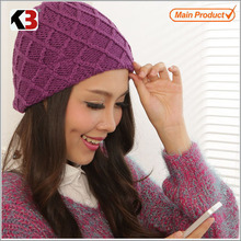 2012 hot sale beanie knitting cap with bluetooth