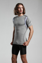 Lively-- ClubFit Men's Compression Tight Sports Fitness Apparel, Active Wear