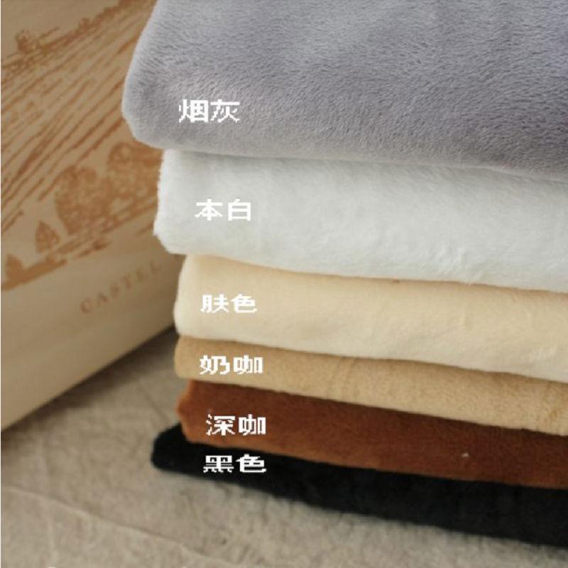 100% poliéster China comprar brinquedo de pelúcia tecido tecido de pano do bebê