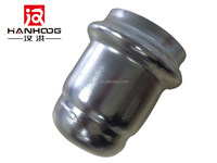 Stainless steel press fittings rubber pipe end cap