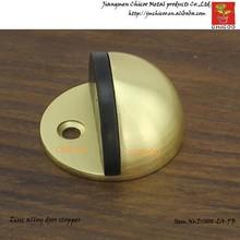 Zinc alloy GOLD COLOUR Floor Mount Dome Door Stopper,Door stop